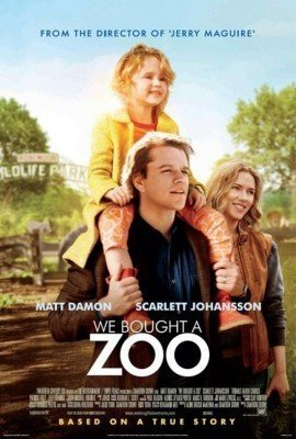 o we bought a zoo poster 270x400 LA MIA VITA è UNO ZOO   una favola targata Cameron Crowe