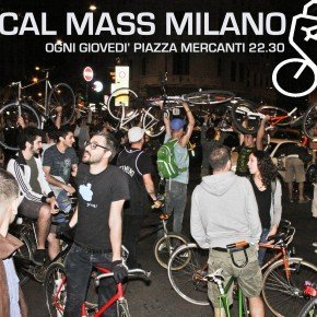 CRITICAL MASS – in bici, skate e pattini per riprendersi la città