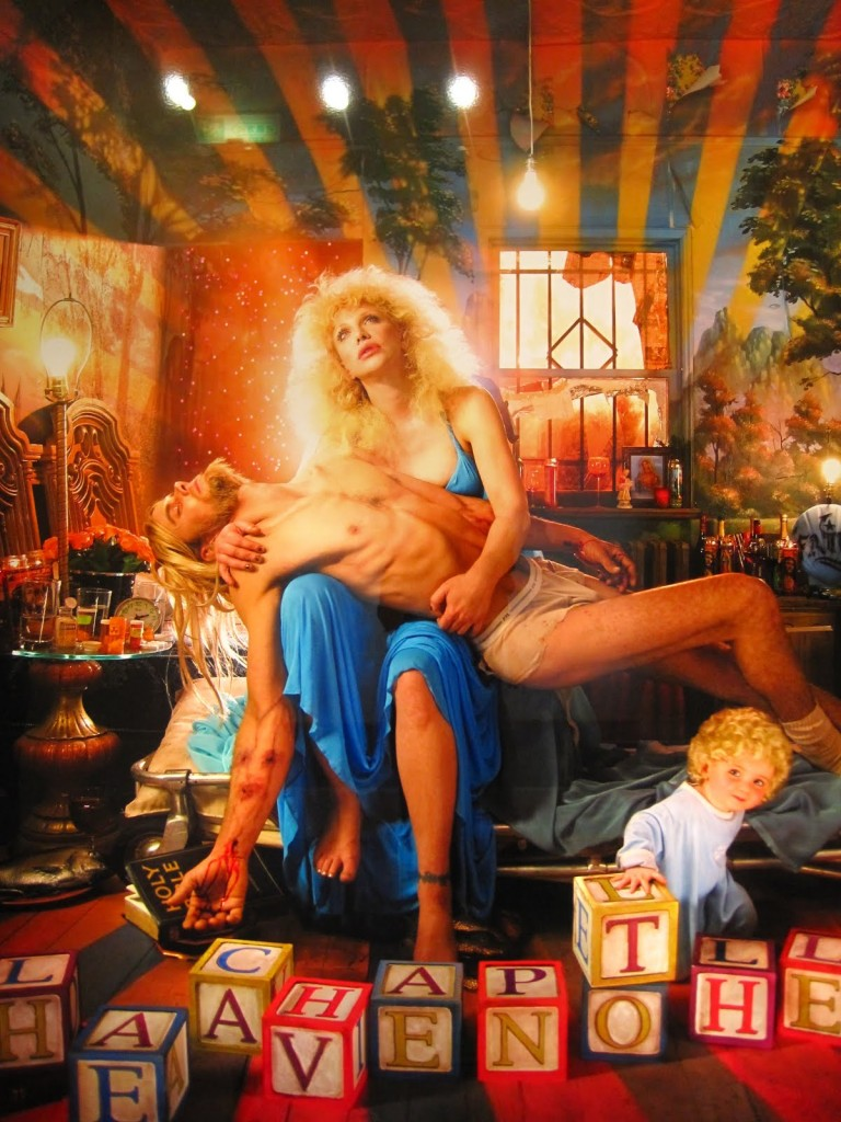 LaChapelle CourtneyLove 768x1024 DAVID LACHAPELLE   in mostra a Lucca fino a Novembre