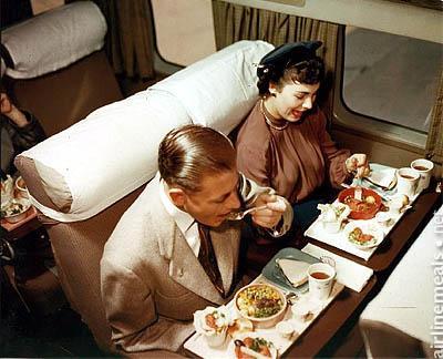 "AIRLINE MEALS - ""porzioni singole"" tra le nuvole 3"
