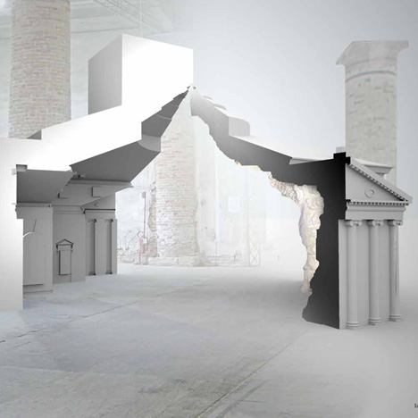 dezeen The Museum of Copying by FAT at Venice Architecture Biennale 2012 1bsq BIENNALE VENEZIA 2012   Architettura condivisa