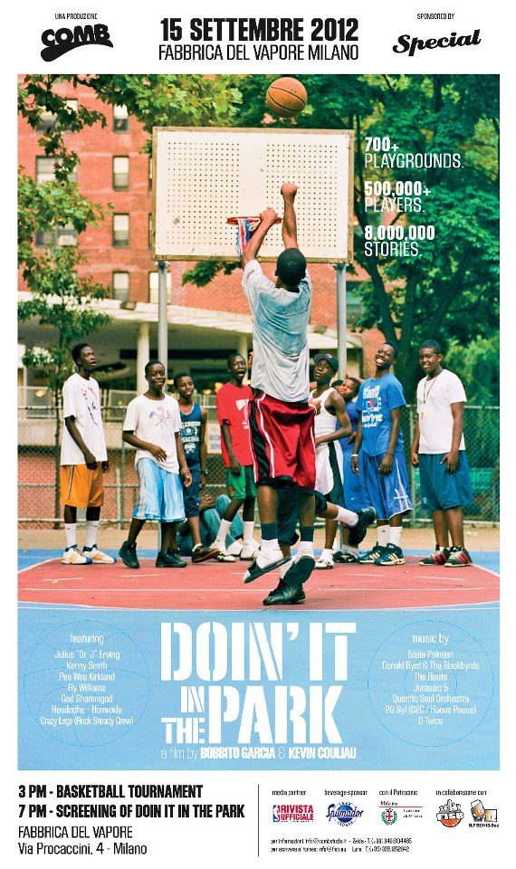 doin DOIN' IT IN THE PARK   a documentary on the pick up basketball scene in NYC