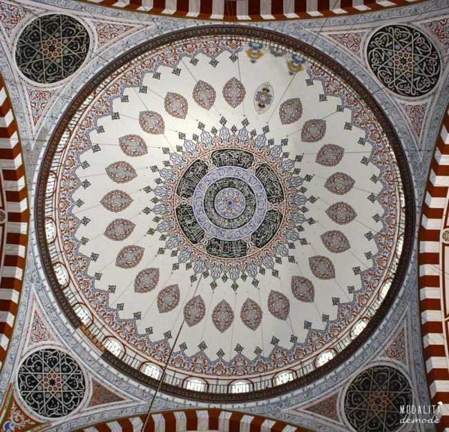 soffitto e1344707296950 ISTANBUL   alla scoperta della città tra Oriente e Occidente