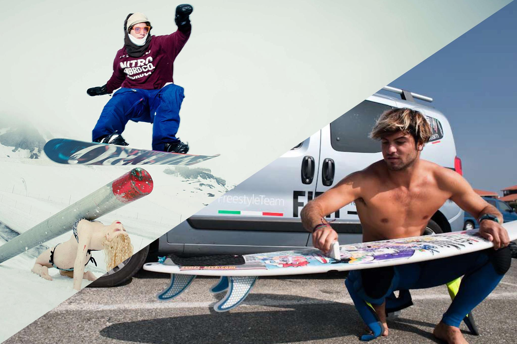 FACCIOSNAO –  20 anni di snowcamp & surf house made in Italy