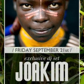 LE CANNIBALE OPENING PARTY – Joakim al Tunnel