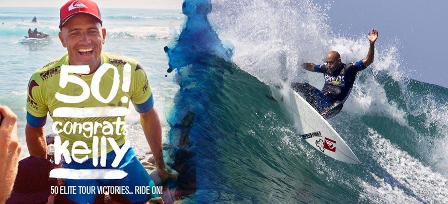 KELLY SLATER – 50 volte il primo surfer! Vince anche l'Hurley Pro 2012