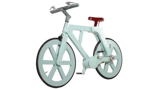 ALFA BIKE – con 9 dollari la ecobici in cartone
