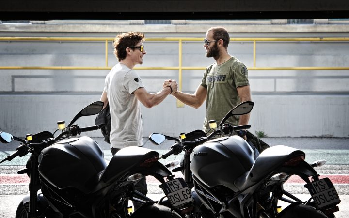 DUCATI MONSTER DIESEL - nuova collezione on the road 3
