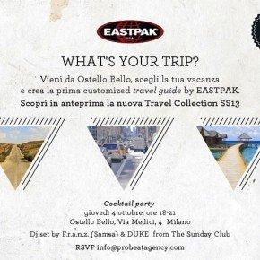 EASTPAK TRAVEL COLLECTION SS13 – personalizza al massimo il tuo viaggio!