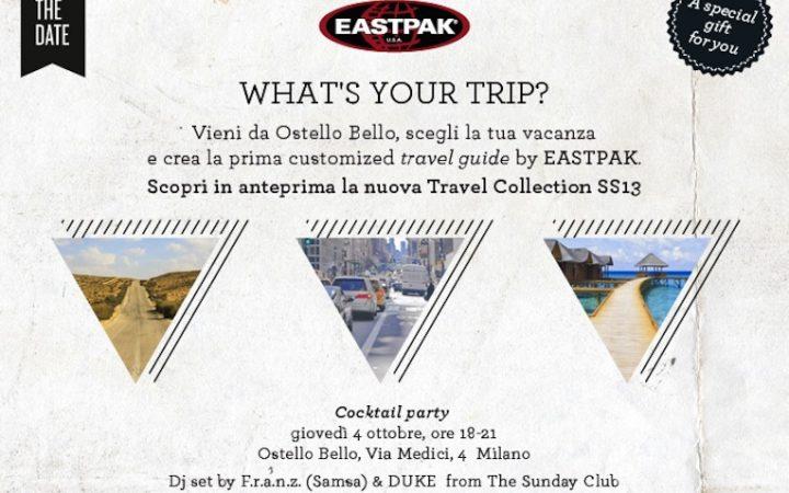 EASTPAK TRAVEL COLLECTION SS13 - personalizza al massimo il tuo viaggio! 3