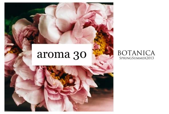 release 591x400 AROMA 30  la botanica della moda