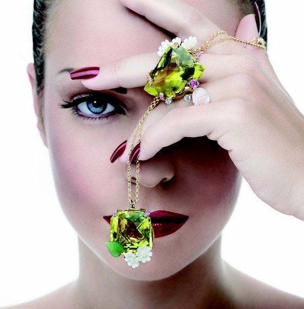 Federico Primiceri ciondolo e anello NATURALLY FEDERICO PRIMICERI   high jewellery