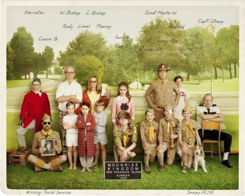 moonrise kingdom poster 800x638 501x400 MOONRISE KINGDOM   voglio vivere in un film di Wes Anderson