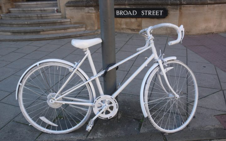 GHOST BIKES - Concrete message 1