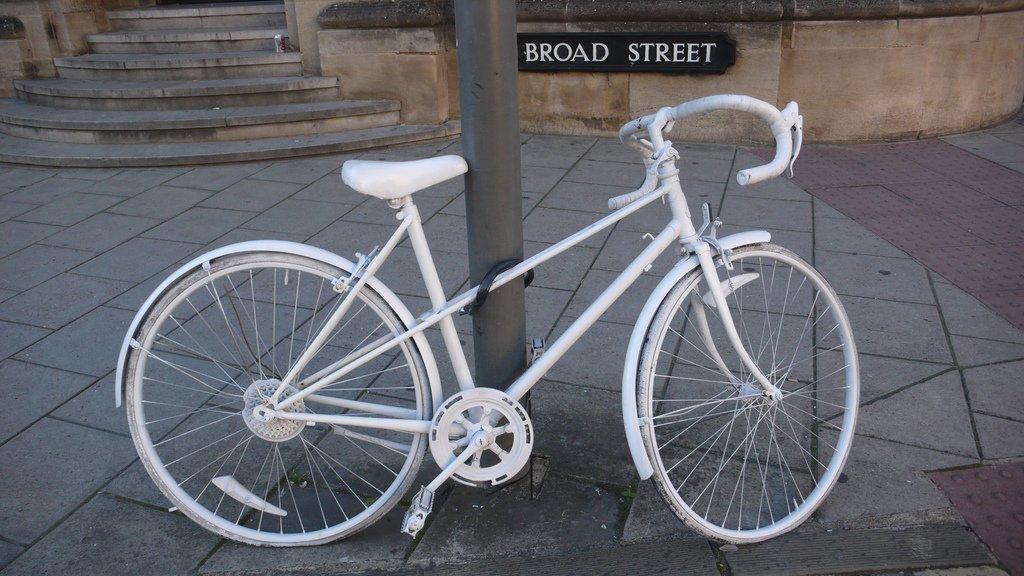 GHOST BIKES – Concrete message