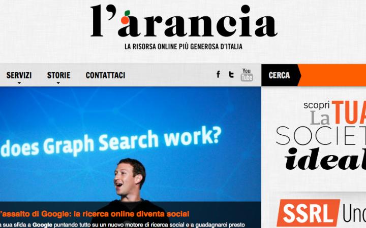 L'ARANCIA - la community web per futuri giovani imprenditori