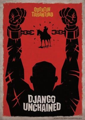 django unchained poster  285x400 DJANGO   della D muta e di altre chiacchiere da bar