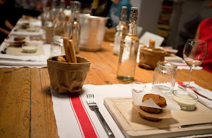 MA' HIDDEN KITCHEN SUPPER CLUB - anche a Milano si mangia underground 1