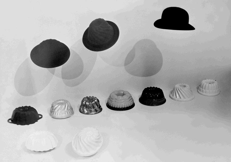 24  Achille Castiglioni cappello in feltro PROGETTO CIBO   La forma del gusto