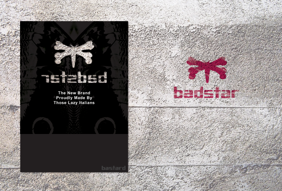 BADSTAR project by Putthikoon Penwan e Yu Wei Kuo Master in Visual Brand Design 2012 2 BASTARD & DOMUS ACADEMY   new graphics collection