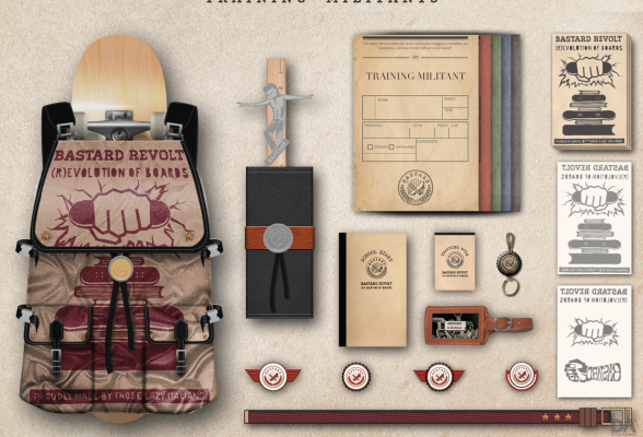 BASTARD & DOMUS ACADEMY - new graphics collection 4