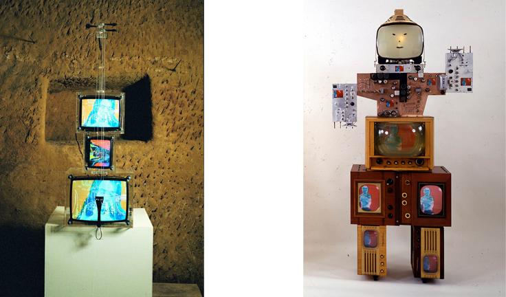 nam june paik in italia art exhibition in modena inside2 NAM JUNE PAIK   capire la videoarte. A Modena