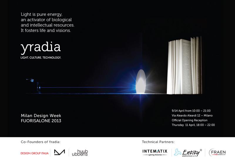 noname YRADIA   On the way to Milano Design Week