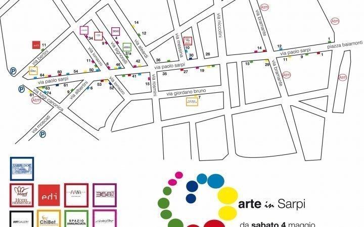 ARTE IN SARPI - Segui la mappa e scopri l'opera 1