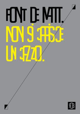 poster 70x100 page 07 ROBDEMATT   rethink the classic font