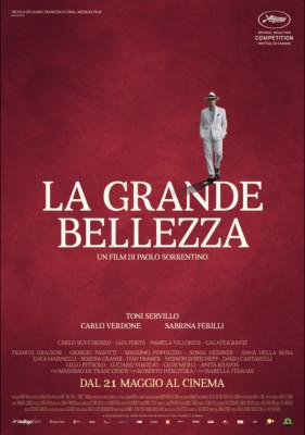 La grande bellezza poster film sorrentino cannes 281x400 LA GRANDE BELLEZZA   è solo un trucco, solo un trucco