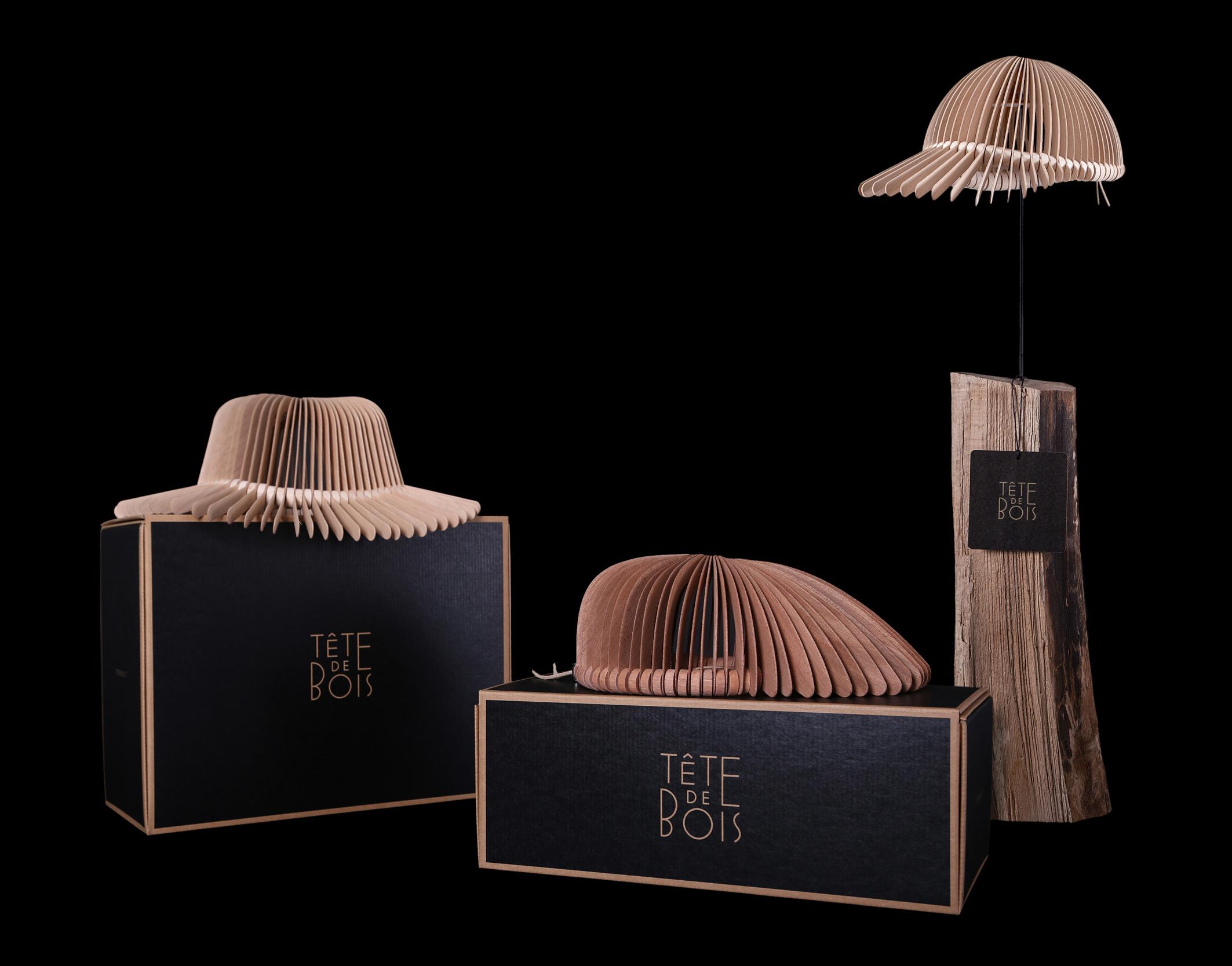 TETE DE BOIS Concept 06 TETE DE BOIS   architetture da indossare