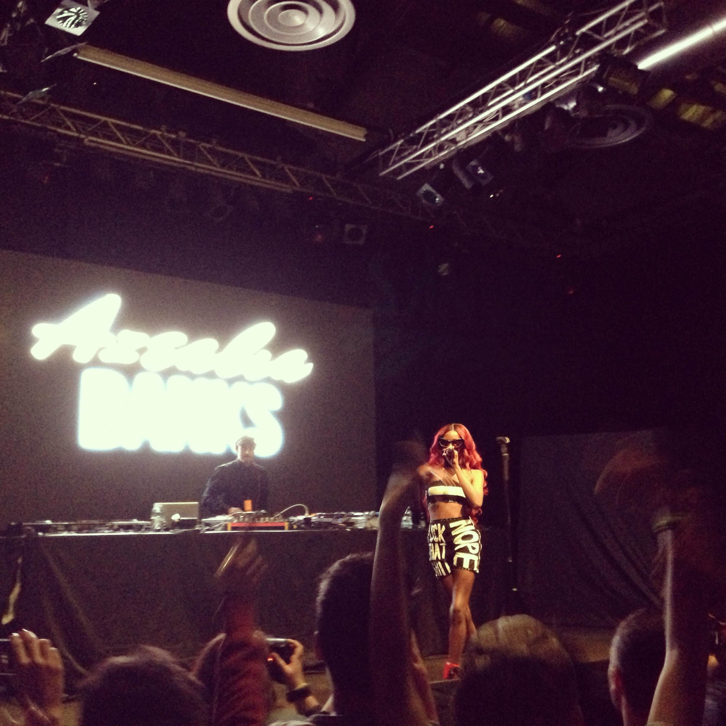 photo 7 AZEALIA BANKS   Live show @Alcatrazmi