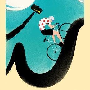 L'UOMO COL MARTELLO – Tour de France con Le Coq Sportif