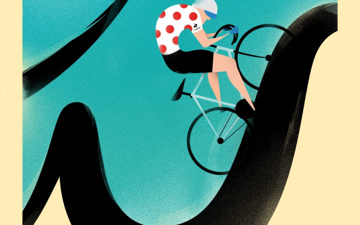 L'UOMO COL MARTELLO - Tour de France con Le Coq Sportif 1