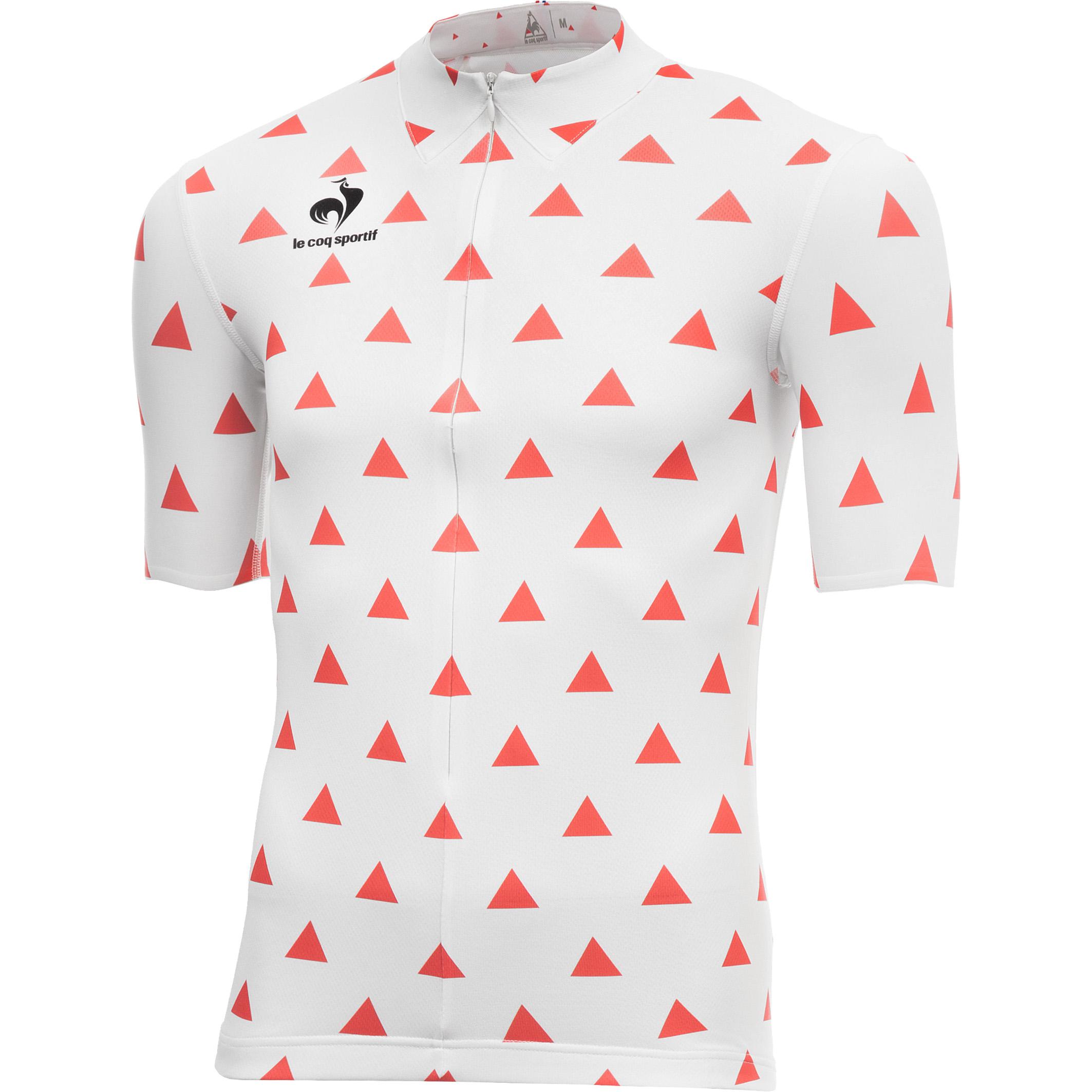 LECOQSPORTIF jersey arac fantaisie troi LUOMO COL MARTELLO   Tour de France con Le Coq Sportif