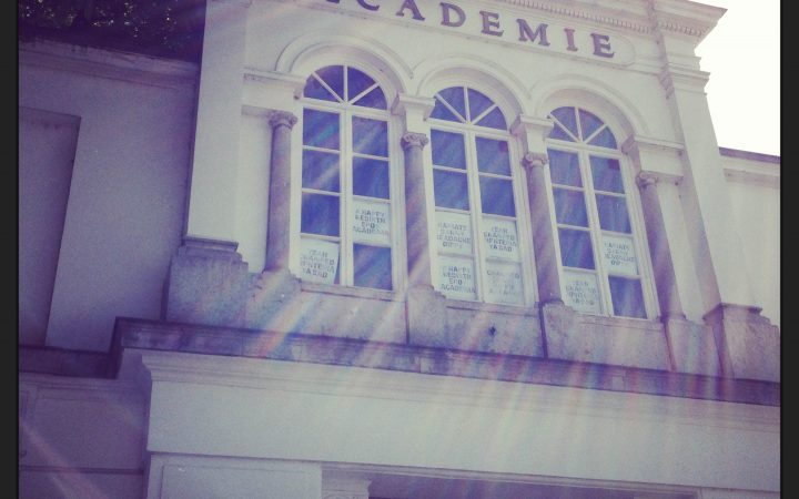 HAPPY BIRTHDAY DEAR ACADEMIE! - Antwerp Royal Academy of Fine Arts 1
