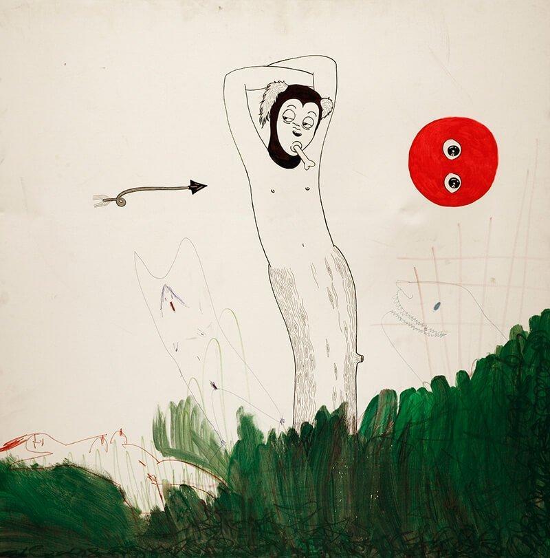 Cane GIULIA PALOMBINO   Prendi larte e mettila in unillustrazione
