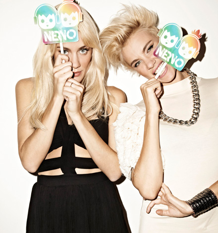 NERVO PHOTOSECTION BITING VODAFONE UNLIMITED PARTY   Nervo live show a Napoli