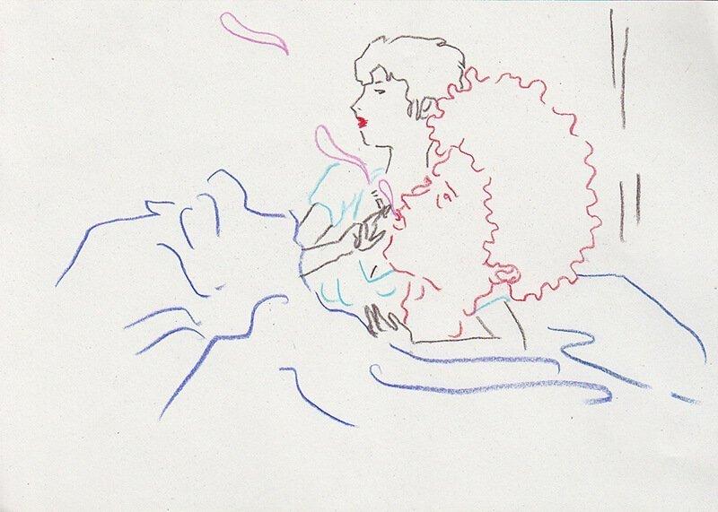 Sigaretta 0021 GIULIA PALOMBINO   Prendi larte e mettila in unillustrazione