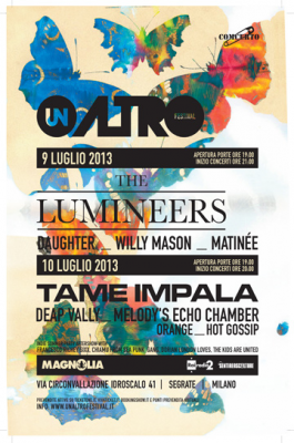 altro festival magnolia 265x400 THE LUMINEERS AND MORE   Live @ Un Altro Festival!