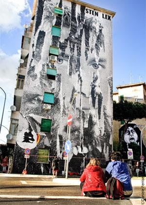 08StenLex 2 OUTDOOR   Sten & Lex crowdfunding street art project
