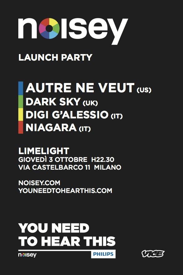 NOISEY flyer NOISEY   La musica di Vice