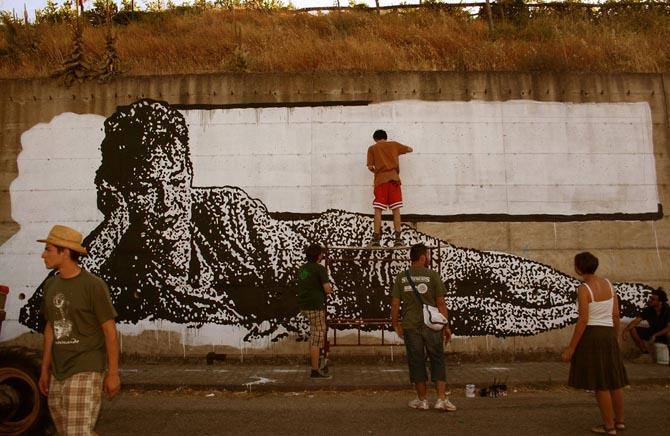sten lex barile unurth OUTDOOR   Sten & Lex crowdfunding street art project