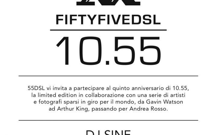 10.55 - la limited edition di 55DSL compie 5 anni 2