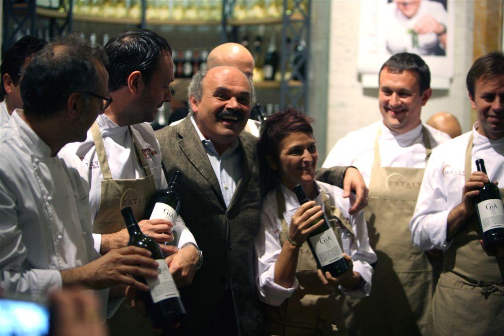 Oscar Farinetti fra gli chef 1 IDENTITA' GOLOSE   al via la IV edizione nella Grande Mela