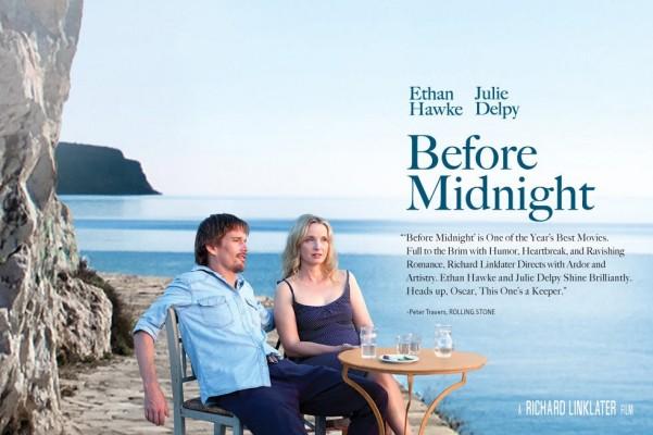 before midnight poster 601x400 BEFORE MIDNIGHT   al cinema il terzo capitolo di una saga atipica