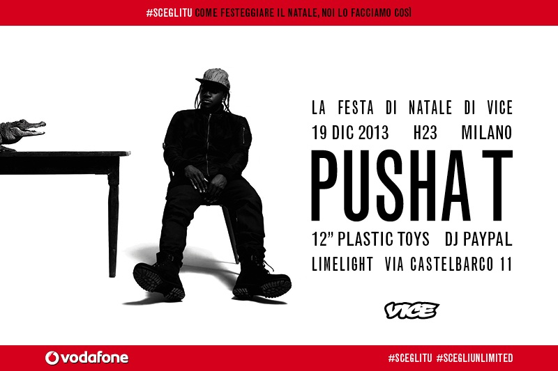 PT flyer digital COUNTDOWN PER IL PARTY DI VICE   gli auguri di Natale con PushaT