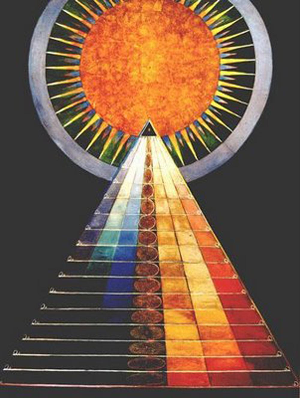 Hilma af Klint Grupp 10 Altarbilder Nr 1 LASTRATTISMO DI HILMA AF KLINT   mostra e capsule firmata Acne Studios