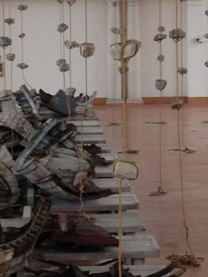 IMG 1838 300x400 KOUNELLIS PER TRIESTE   Uninstallazione dello sciamano dellArte Povera