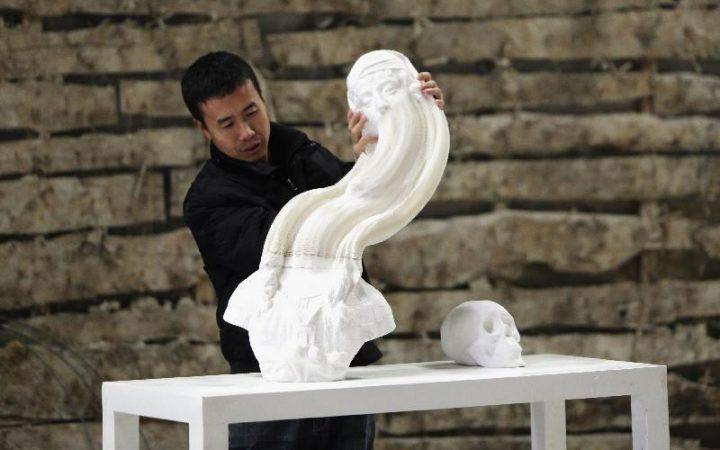 BUST OF DAVID - Li Hongbo 4